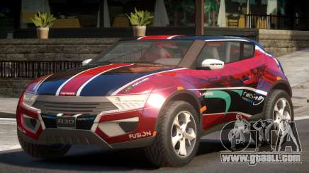Lagoon Car from Trackmania 2 PJ9 for GTA 4