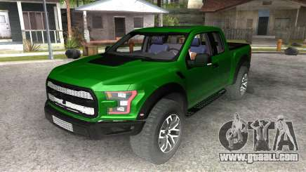 Ford Raptor F-150 2017 for GTA San Andreas