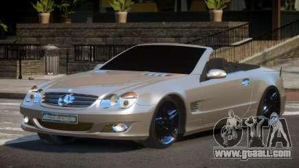 Mercedes-Benz SL500 SR for GTA 4