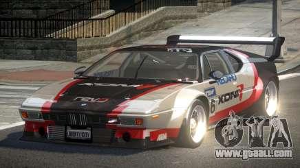 1979 BMW M1 PJ2 for GTA 4