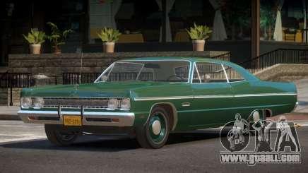 Plymouth Fury V1.1 for GTA 4