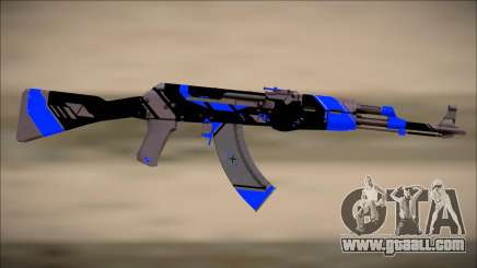 PROJECT ASIIMOV II (blue) for GTA San Andreas