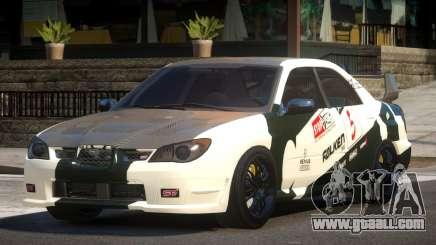 Subaru Impreza STI GS L8 for GTA 4