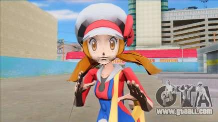 Lyra from Pokemon Masters for GTA San Andreas
