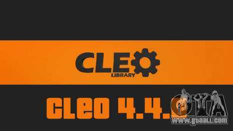CLEO Library 4.4.0 for GTA San Andreas