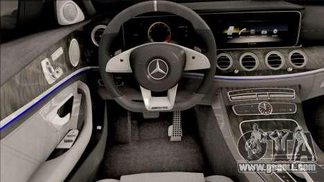 Mercedes-Benz E63S AMG 2020 for GTA San Andreas
