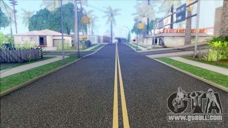 New Roads in Los Santos (V Styled) v1.0 for GTA San Andreas