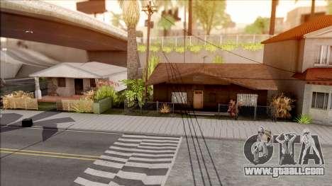 New Grove Houses for GTA San Andreas