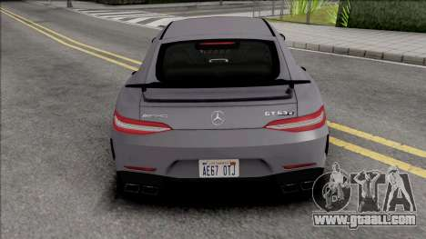 Mercedes-Benz AMG GT 63S for GTA San Andreas
