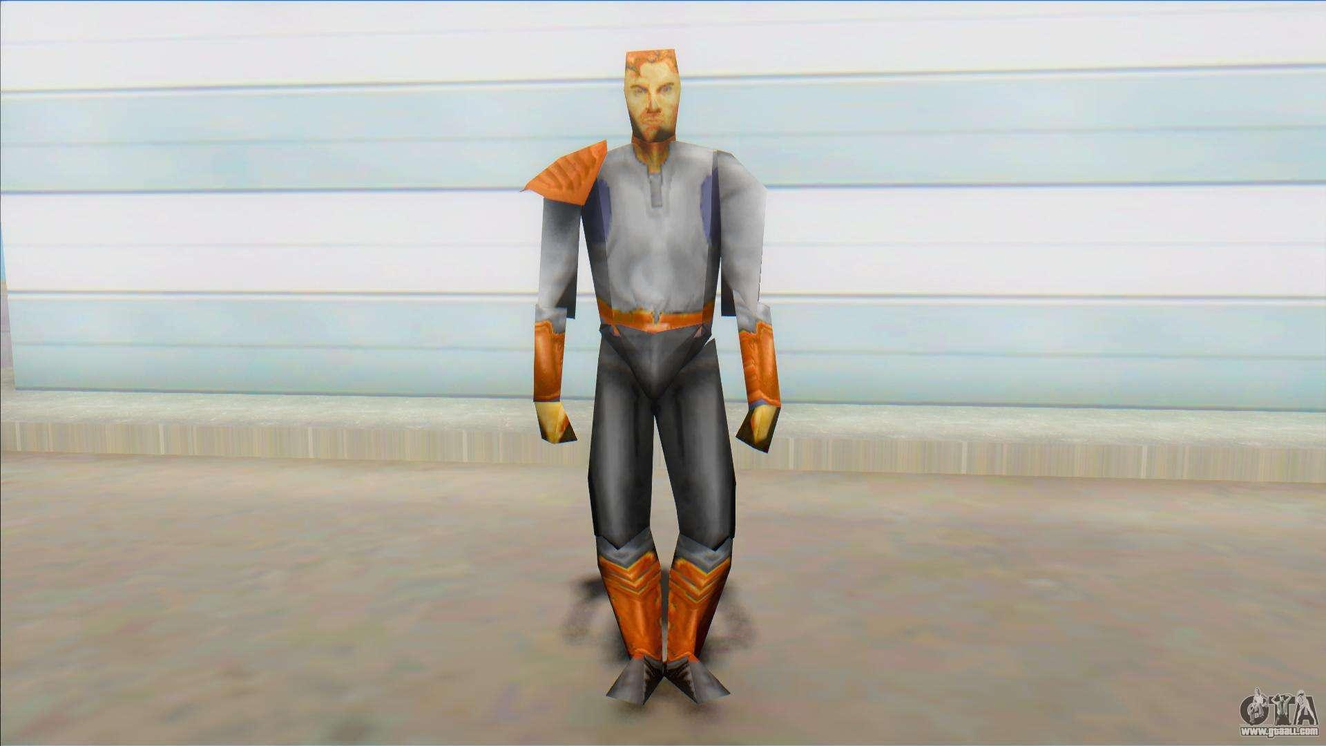 Kyle Katarn Star Wars Jedi Knight Dark Forces For Gta San Andreas