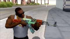 CSGO AK-47 Fire Serpent for GTA San Andreas