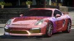 Porsche Cayman GT4 Drift L6 for GTA 4