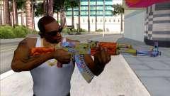 CSGO AK-47 Case Hardened for GTA San Andreas