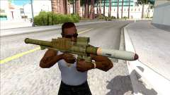 Hawk & Little Homing Launcher Green for GTA San Andreas