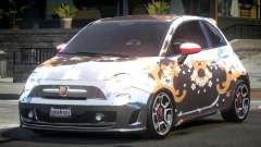 Fiat Abarth Drift L4 for GTA 4