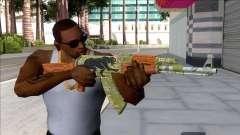 CSGO AK-47 Jaguar for GTA San Andreas