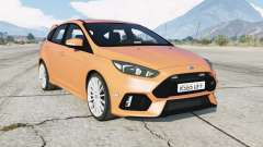 Ford Focus RS (DYB) Unmarked Police for GTA 5