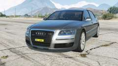 Audi A8 L W12 quattro (D3) Onopvallend Politie for GTA 5