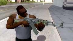 CSGO AK-47 Emerald Pinstripe for GTA San Andreas