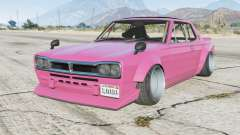 Nissan Skyline 2000GT-R coupe (KPGC10) Stanced for GTA 5