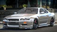 Nissan Skyline R34 BS Drift for GTA 4