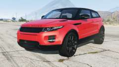 Range Rover Evoque 2012 for GTA 5