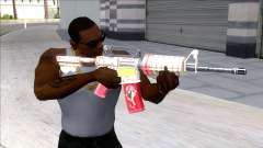 M4A1 Assault Rifle Skin 4 for GTA San Andreas