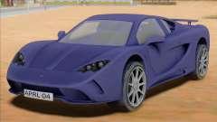 Vencer Sarthe Supercar for GTA San Andreas