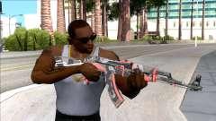 CSGO AK-47 Vanquish for GTA San Andreas