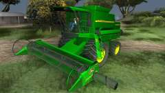 John Deere 1470 Combine Harvester for GTA San Andreas