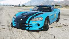 Dodge Viper SRT-10 ACR Hot Pursuit Police for GTA 5
