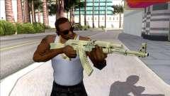 CSGO AK-47 Safari Mesh for GTA San Andreas