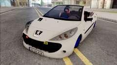 Peugeot 207 Crook for GTA San Andreas