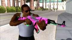 CSGO AK-47 Neon Revolution for GTA San Andreas