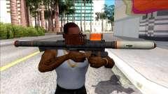Hawk & Little Homing Launcher Orange for GTA San Andreas