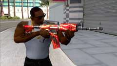 M4A1 Assault Rifle Skin 6 for GTA San Andreas