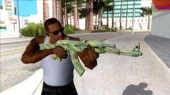 CSGO AK-47 Jungle Spray for GTA San Andreas
