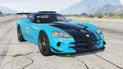 Dodge Viper SRT-10 ACR Hot Pursuit Policᶒ for GTA 5