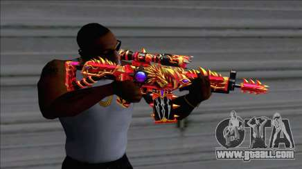 SG552 Lycantrope Imperial for GTA San Andreas
