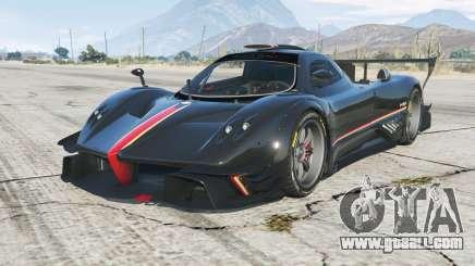 Pagani Zonda Revolucion 2013 for GTA 5