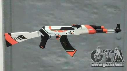 CSGO AK-47 Asiimov for GTA San Andreas