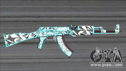 CSGO AK-47 Frontside Misty for GTA San Andreas