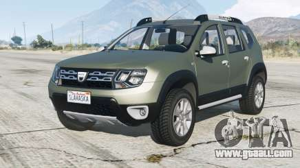 Dacia Duster 2013 for GTA 5