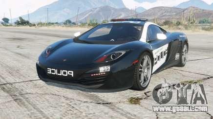 McLaren MP4-12C Hot Pursuit Policᶒ for GTA 5