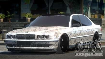 1999 BMW 760Li E38 Drift PJ7 for GTA 4