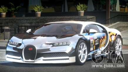 Bugatti Chiron GS L1 for GTA 4