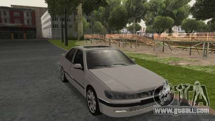 PEUGEOT 406 No Plates for GTA San Andreas