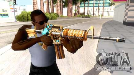 M4A1 Assault Rifle Skin 2 for GTA San Andreas