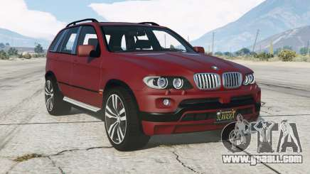 BMW X5 4.8is (E53) 200ⴝ for GTA 5