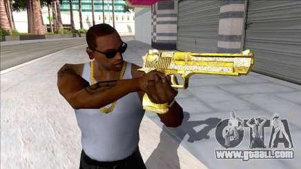 Desert Eagle Blue Estate The Game V1 for GTA San Andreas